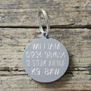 'I've Misplaced My Humans' Dog ID Tag