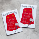 Thor Funny Birthday Card Or Father's Day Card