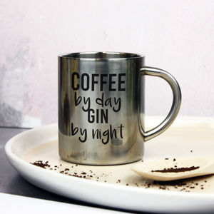 Personalised 'Coffee By Day' Mug