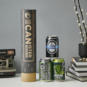 Best Of Scotland Beer Canister Gift Idea