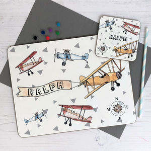 Aeroplane Placemat - tableware