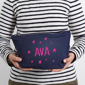 Personalised Make Up Bag/Travel Accessories Pouch