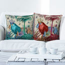 Tropical Lions Decorative Cushions