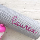 Personalised Yoga / Fitness Mat - trends