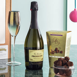 The Perfect Prosecco And Chocolate Truffles Box