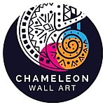 chameleon wall art wall stickers for kids