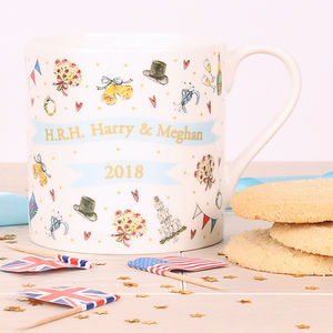 Royal Wedding Fine Bone China Mug - mugs