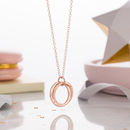 9ct rose gold plate with clear finish, standard trace chain