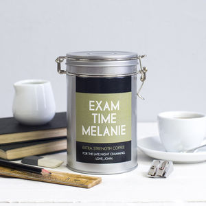 Personalised Coffee Gift For Exams
