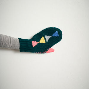Triangle Mittens Forest