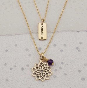 Selection Gold Yoga Chakra Necklaces