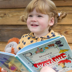 Personalised Children's Book Adventure Story And Map - our favourite books for children