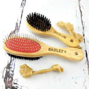 Personalised Dog Or Cat Brush