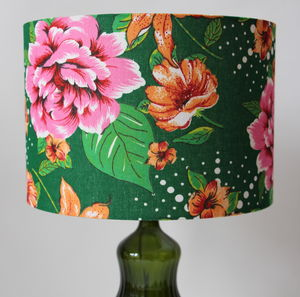 Green Garden Lampshade - lighting
