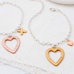 Personalised Full Of Love Bracelet
