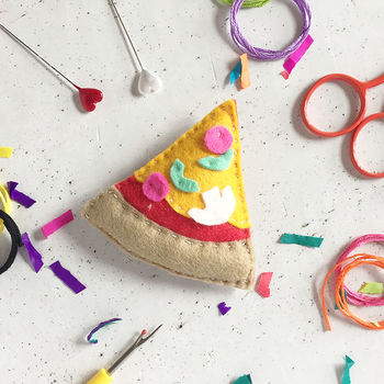 Pizza Felt Sewing Craft Kit