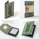 Antique Book Case for Kindle eRaeder and tablets in Green