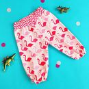 Girls Flamingo Harem Trousers