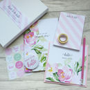 Bride To Be Wedding Planning Stationery Gift Set