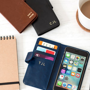 Luxury Personalised iPhone Case Navy, Brown Or Black - the ultimate lust list