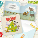 Wow You're Four! A Birthday Book You Can Send As A Card