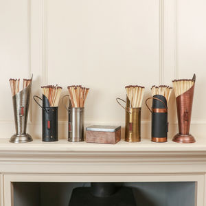 Traditional Fireplace Match Holder Collection - picnics & barbecues