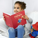 Paddington Personalised Story Book And Plush Toy