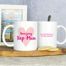 Personalised Stepmum Mug