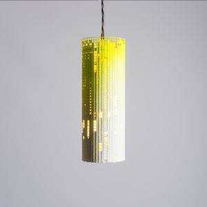 Mesh Metal Geometric Cylinder Lampshade - lighting