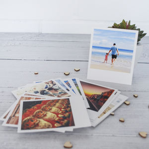 Personalised Retro Style Photo Cards - stocking fillers for him