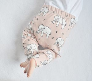 Dusty Rose Elephant Baby And Toddler Leggings
