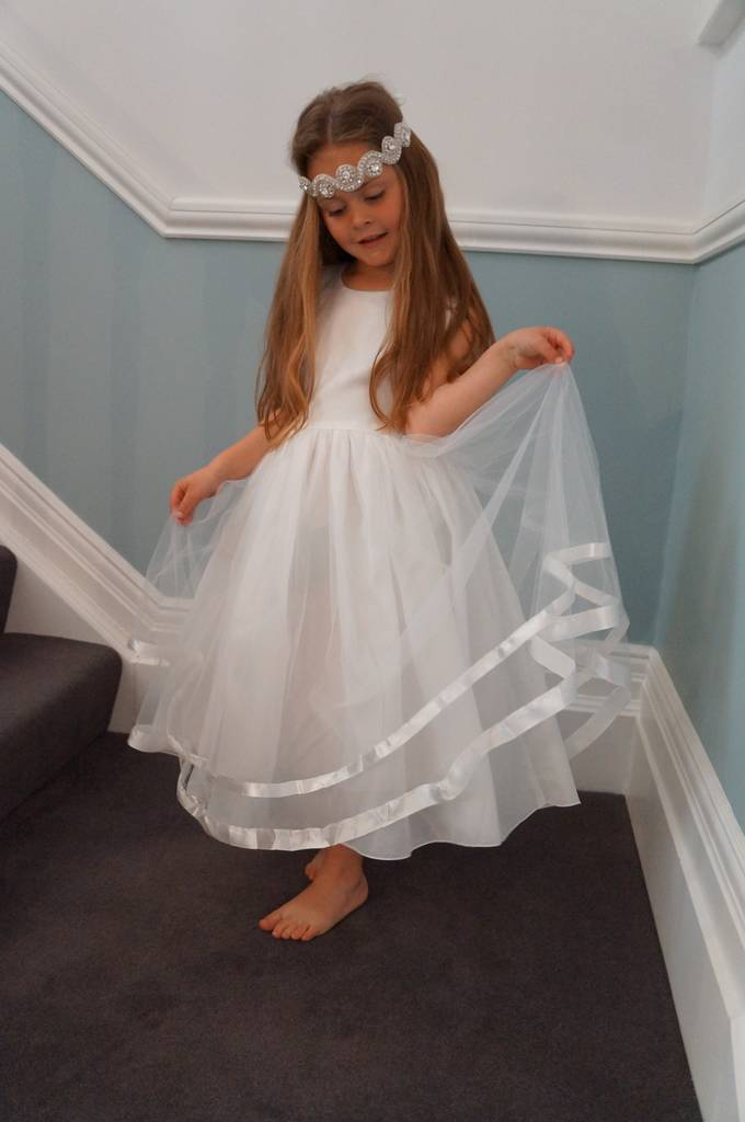 5a9ee48ec74 rose ~ flower girl dress