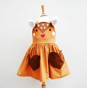 Bambi Baby Deer Play Dress - clothing