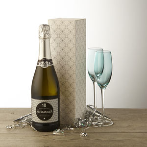 18th Birthday Personalised Prosecco - personalised