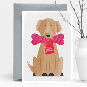 Have A Barking Birthday Greeting Card - birthday cards