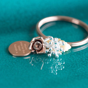 Bouquet Keyring - keyrings