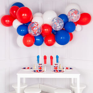 Royal Wedding Balloon Cloud Kit - outdoor decorations