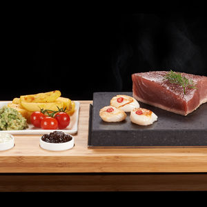 The Steak Plate And Sauces Set For The Perfect Sizzle - tableware
