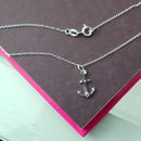 Matching 'Stay Anchored' necklace by Amanda Jane's