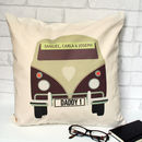 Personalised Camper Van Cushion Cover