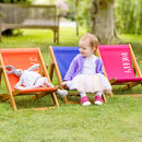Personalised Children's Deckchair