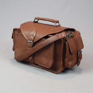 Vintage Style Leather Camera Bag - lust list for him