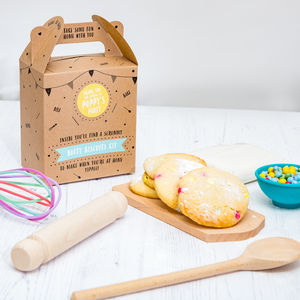 Dotty Biscuit Baking Party Bag - make your own kits
