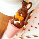 Strawberry Easter Bunny Hot Chocolate Spoon Gift