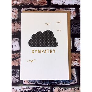 Sympathy Card Cloud