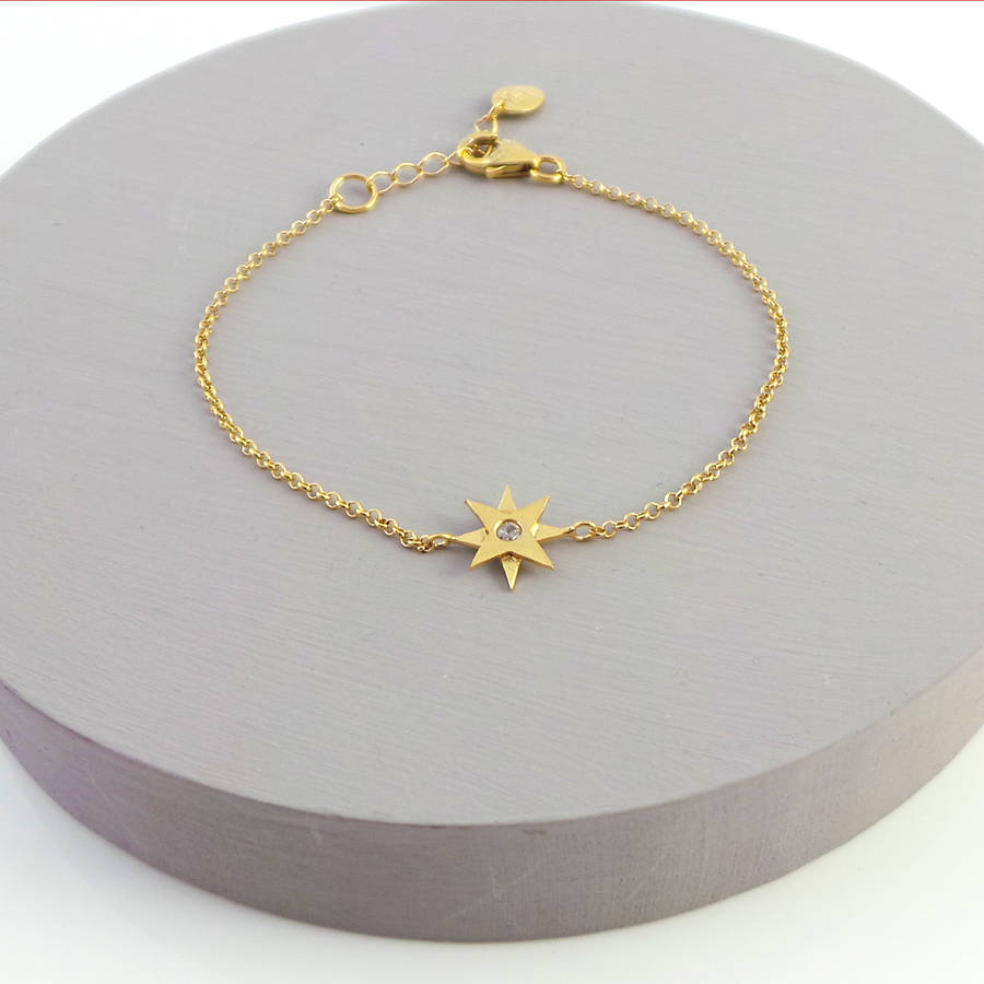 necklace gold rg star plated tahija tiny lr rose products ss n sterling linda silver