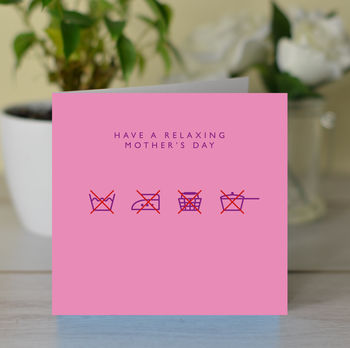 Have A 'Relaxing' Mother's Day Card