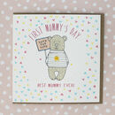 First Mummy's Day Mothering Sunday Card