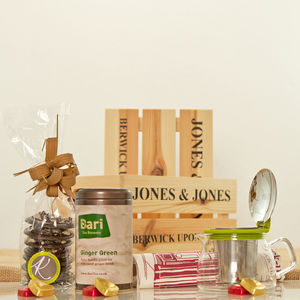 Bari Brewery Ginger Green Tea Gift Hamper