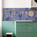 Italy Kitchen Walls Backsplash Wallpaper